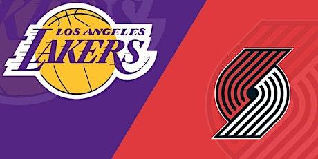 StrEams@!. Portland Trail Blazers v Los Angeles Lakers LIVE ON NBA 2021 tickets