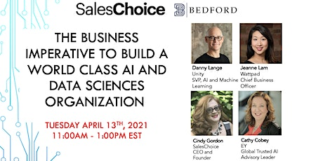 The  Imperative To Build A World Class AI And Data Sciences Organization tickets