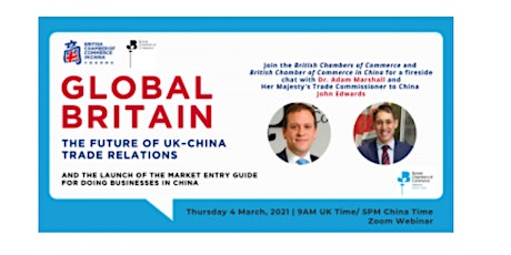 Global Britain – The future of UK–China Trade Relations tickets