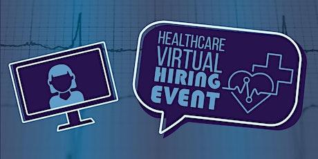 Healthcare Virtual Hiring Event tickets