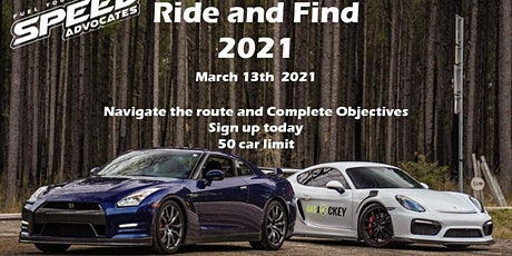 Ride And Find 2021 tickets