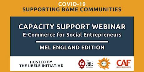 E-Commerce for Social Entrepreneurs tickets