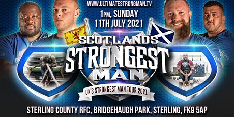 SCOTLAND'S STRONGEST MAN 2021 tickets