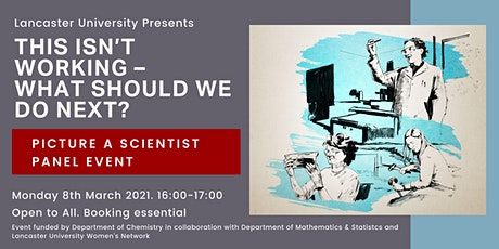 Picture a Scientist Panel: This isn't working – what should we do next tickets