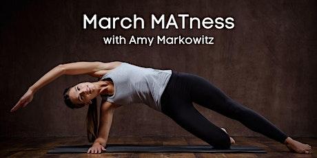 March MATness: A Virtual Mat Pilates Class tickets