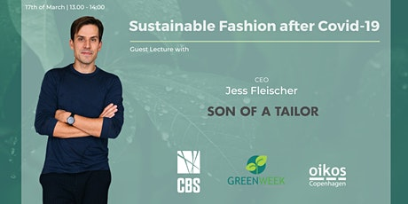 Green Week x Son of a Tailor: Sustainable Fashion after Covid-19 tickets
