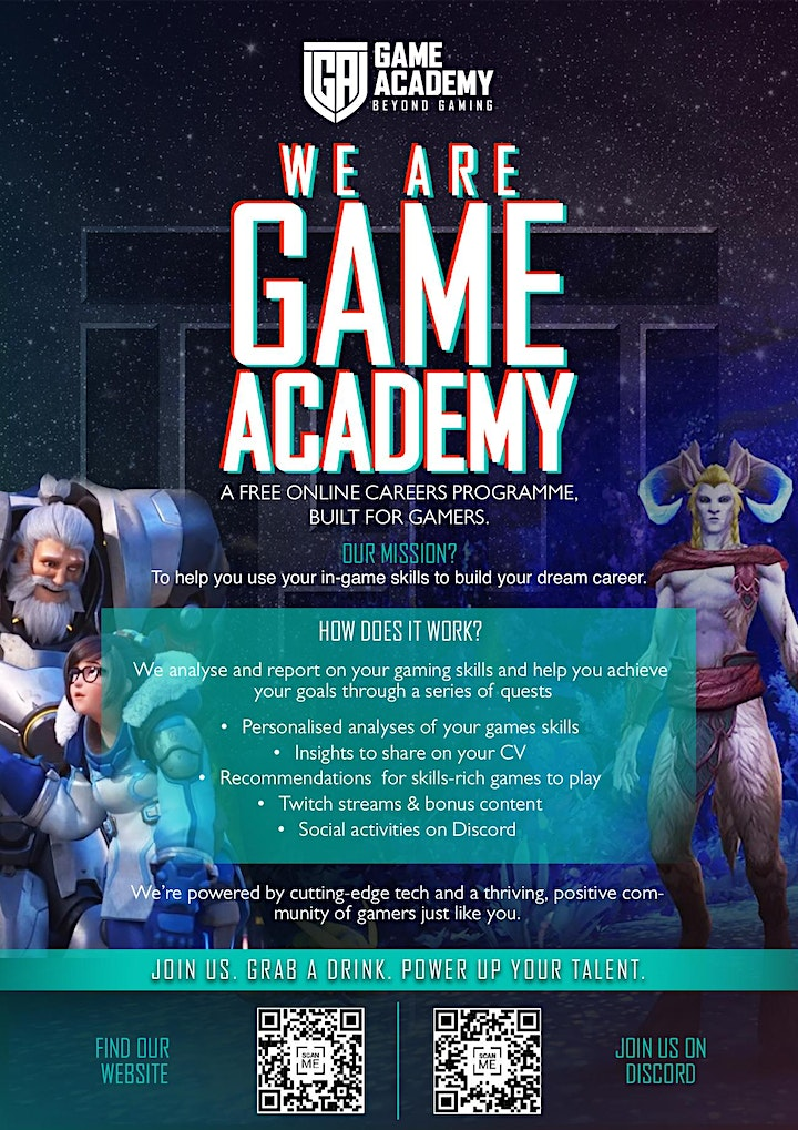 The Next Level Up: Jobs, skills and the future of work Game Academy Stream image