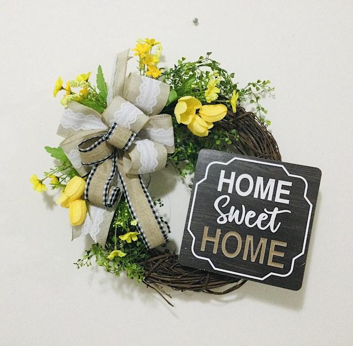 Easter Grapevine Wreath Workshop image