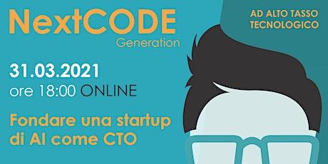 Fondare una startup di AI come CTO  -  Online biglietti