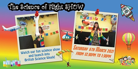 The Science of Flight, Family Show tickets