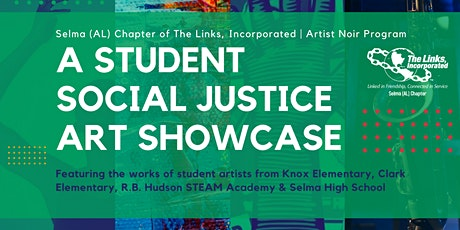 A Student Social Justice Art Showcase tickets