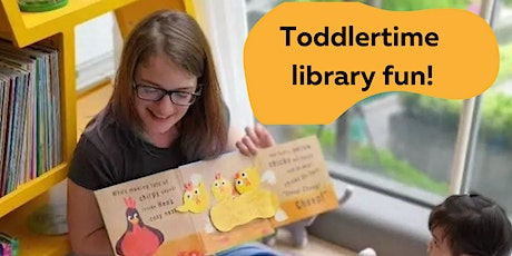 Toddler Time At The Library tickets