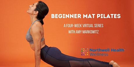 Virtual Beginner Mat Pilates: A Four-Week Series tickets