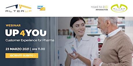 Customer Experience for Pharma biglietti