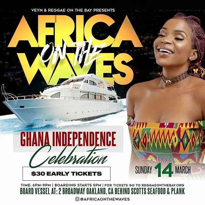 AFRICA ON THE WAVES GHANA INDEPENDENCE image