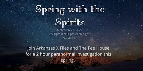 Spring with the Spirits tickets