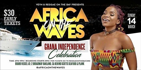 AFRICA ON THE WAVES GHANA INDEPENDENCE tickets