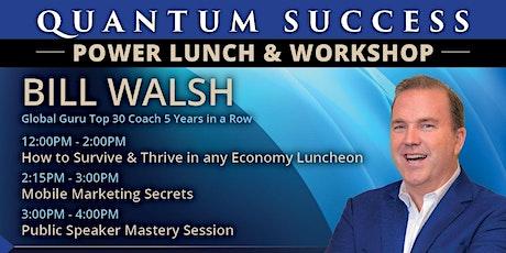 Quantum Success Power Lunch tickets