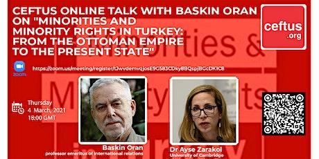Minorities and Minority Rights in Turkey tickets