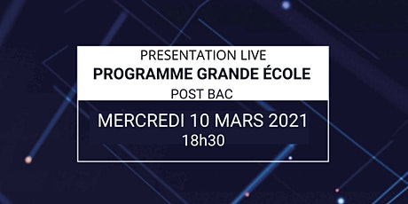 Présentation Live du Programme Grande Ecole Epitech billets