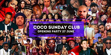 Coco Sunday Club Opening Party tickets