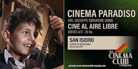 CINE AL AIRE LIBRE - CINEMA PARADISO (1988) - Jueves 4/3 entradas