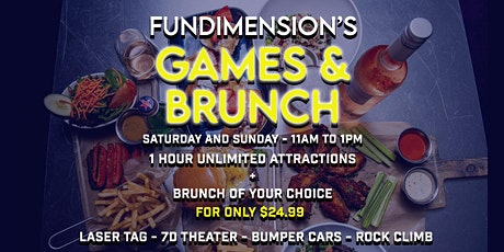 FunDimension's Games & Brunch in Wynwood entradas