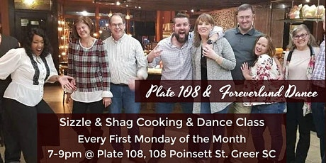 Sizzle & Shag Cooking and Dance Class tickets