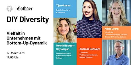 DIY Diversity-Vielfalt in Unternehmen mit Bottom-Up-Dynamik | GDW x Gothaer Tickets