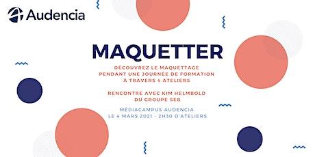 Maquetter - exposition & ateliers billets