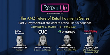 The ANZ Future of Retail Payments Series Part 2 tickets