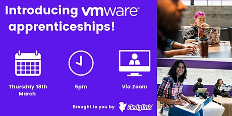 Introducing VMware apprenticeships! tickets