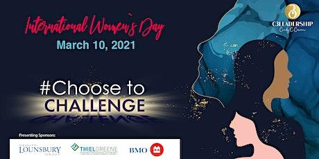 2021 International Women's Day - #ChooseToChallenge tickets