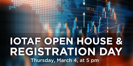 IOTAF Open House and Registration Day billets