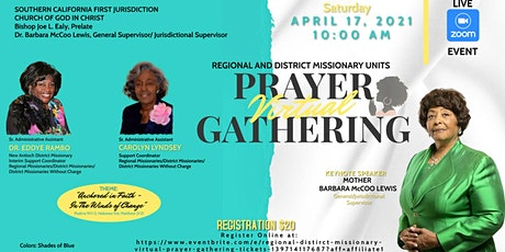 Regional & District Missionary Virtual  Prayer Gathering tickets