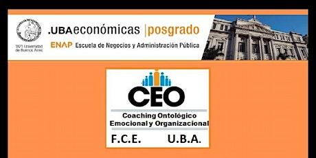 Coaching Ontológico Emocional y Organizacional UBA FCE ENAP Presentacion entradas