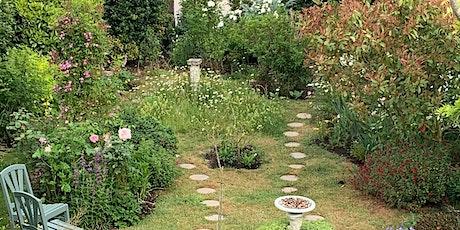 Open garden featuring ponds and pollinator habitats tickets