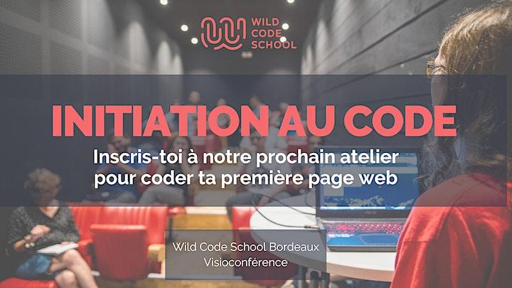 Image pour Initiation au code informatique