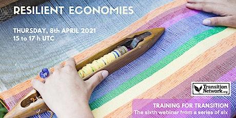 Webinar #6: Resilient Economy bilhetes