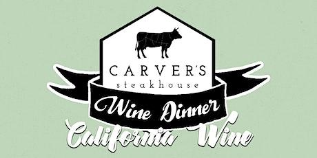March Wine Dinner tickets
