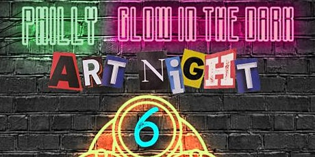 Philly Glow in The Dark Socially Distant Art Show tickets
