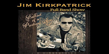 Jim Kirkpatrick Full Band show live Eleven Stoke tickets