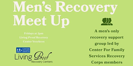 Men's Recovery Meet Up tickets