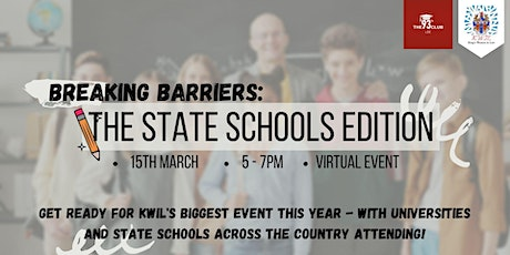 Breaking Barriers: The State School Edition tickets