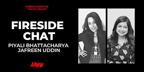 Fireside Chat: Piyali Bhattacharya and Jafreen Uddin tickets