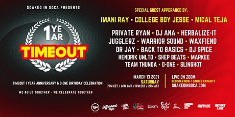 1 Year Timeout Anniversary  &  D-One Birthday Celebration tickets
