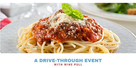 Spaghetti Dinner Drive-thru tickets