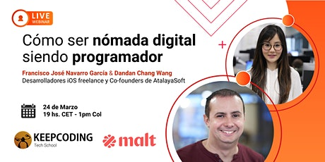 Webinar: Cómo ser nómada digital siendo programador entradas
