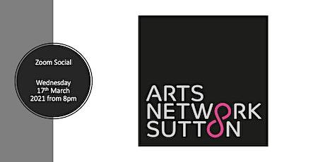 Arts Network Sutton : Zoom Social tickets