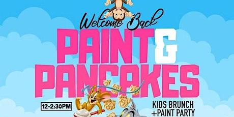Paint & Pancakes - Kids Brunch + Paint Party tickets